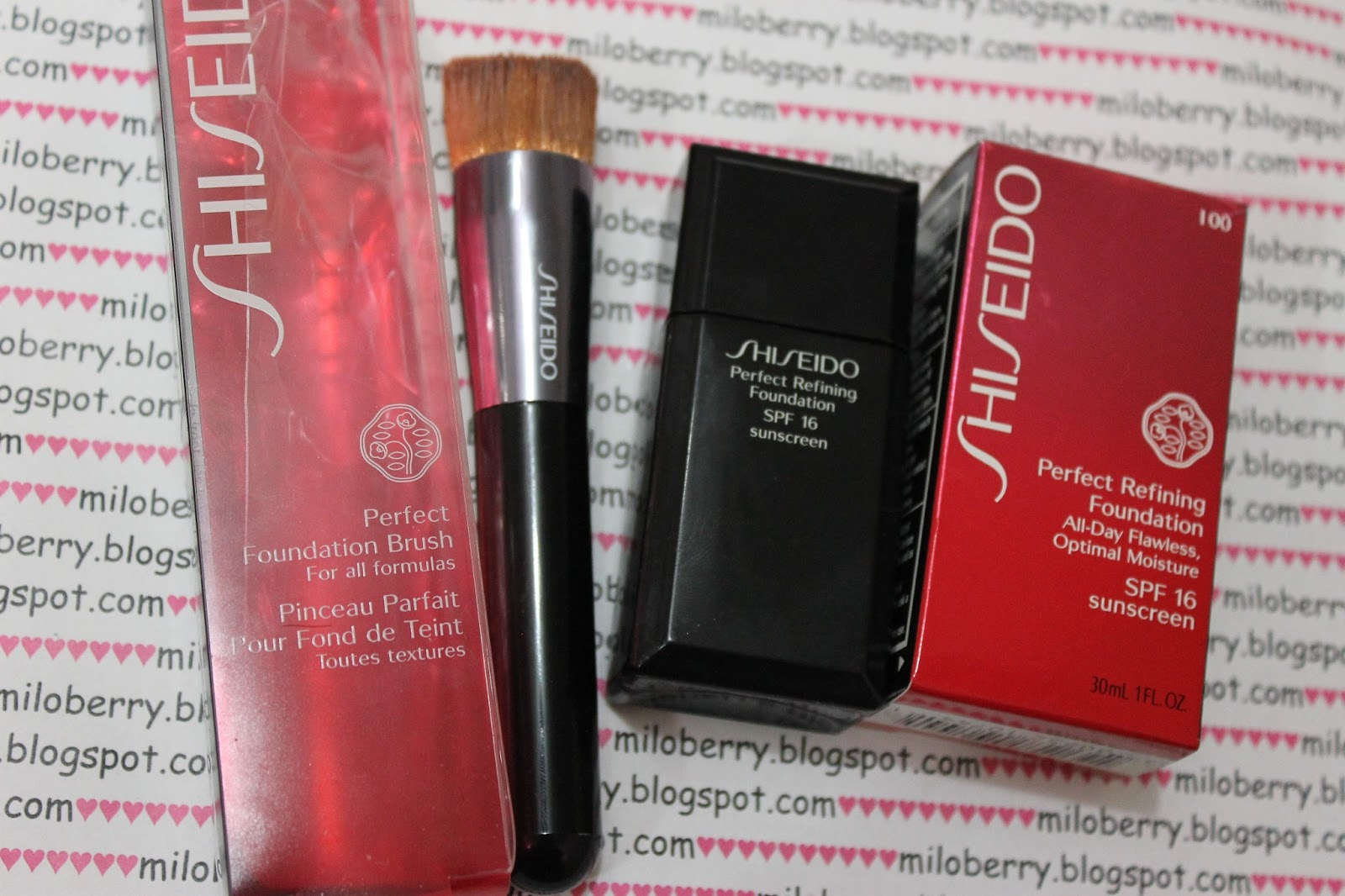 miloberry blog review shiseido perfect refining. Black Bedroom Furniture Sets. Home Design Ideas