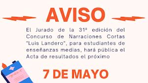 """Concurso """"Luis Landero"""": el 7 de mayo conoceremos los ganadores"""