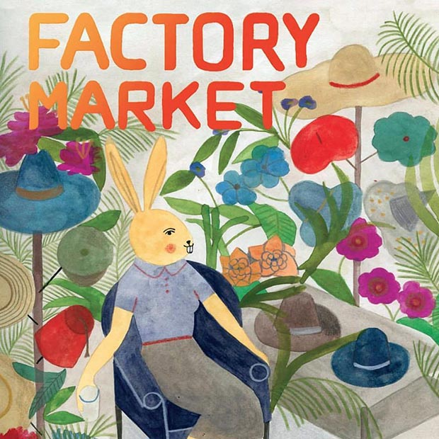 Factory Market 3 aprile locandina