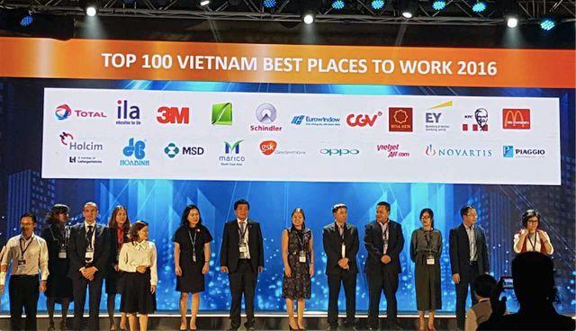Eurowindow-top 100 nơi làm việc tốt nhất