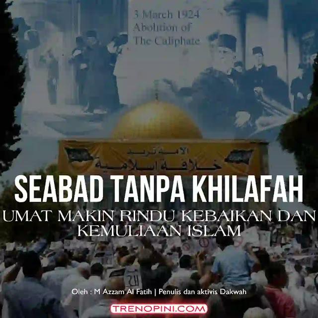 3 Maret, merupakan hari bersejarah bagi kaum muslimin. Yakni hari di mana kaum muslimin kehilangan mahkota. Yang menyebabkan kaum muslim tercerai - berai yang kemudian hilanglah kekuatan ukhuwah Islamiyyah. Yang akhirnya, umat Islam bagai anak ayam kehilangan induknya, merana dan mengalami kemerosotan di segala bidang.