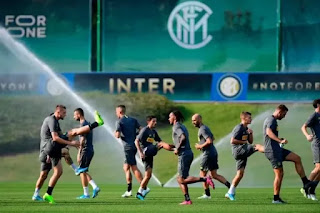 Inter have no intention of resuming training on March 25