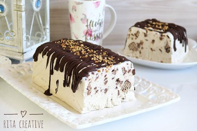 domowe lody bananowo czekoladowe
