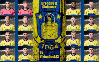 PES 2021 Brondby IF Facepack by VikingDuck13