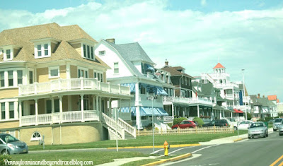 Ocean Front Mansions in Cape May New Jersey