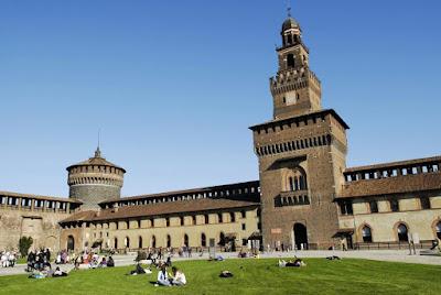 #Travel - O que quero ver em Milão Castelo Sforzesco