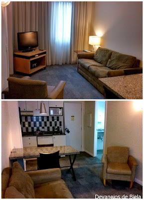 Suíte Luxo Hotel Slaviero Suítes Curitiba