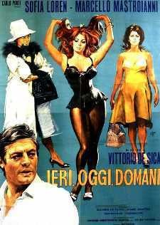 Yesterday, Today and Tomorrow won the  third of De Sica's four Academy Awards