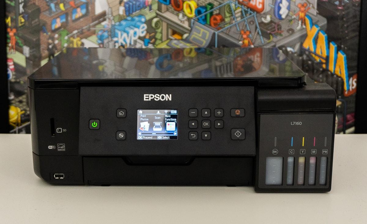Epson Printer Error Code E-01 - How to fix