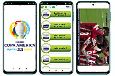 أفضل تطبيق لمشاهدة كوبا امريكا 2021 مجانا
