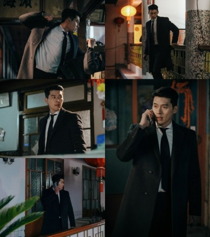 Actor Hyunbin showed off his luxury charisma in suit for the still cut of 'Crash Landing on You'