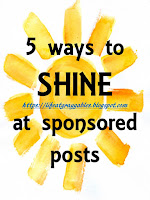 5 Ways to Shine at Sponsored Posts