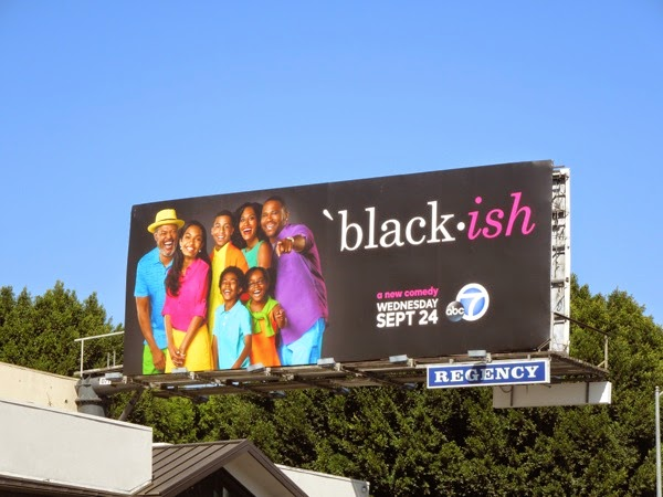 Black-ish series premiere billboard