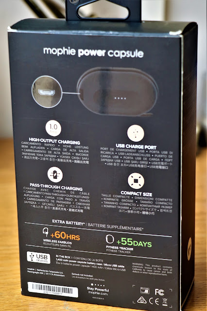 #TheLifesWayReviews @Mophie Power Capsule #myMophie #ProductReview
