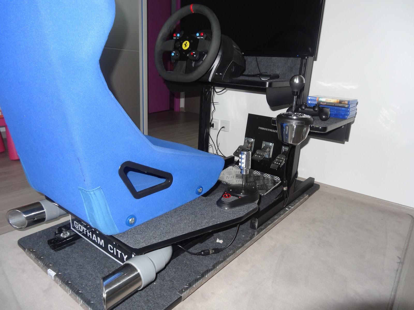 blog de vincent demaret racecab simulateur de conduite homemade. Black Bedroom Furniture Sets. Home Design Ideas