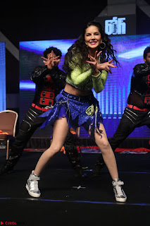 Sunny Leone Dancing on stage At Rogue Movie Audio Music Launch ~  123.JPG