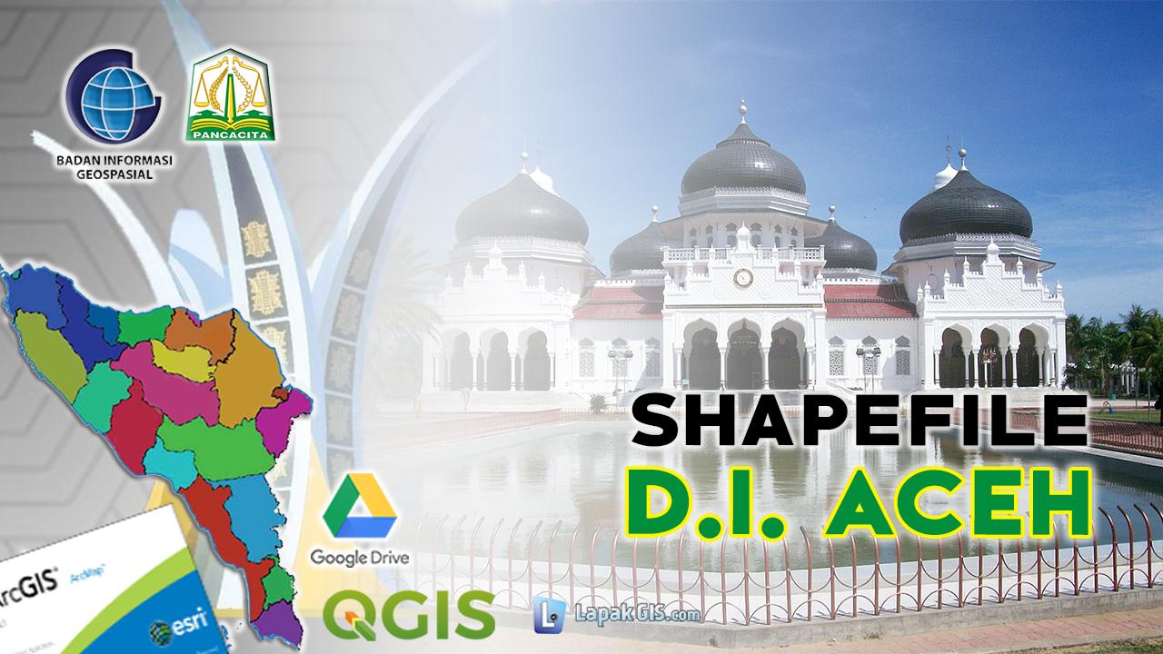 Shapefile Provinsi Aceh Terbaru