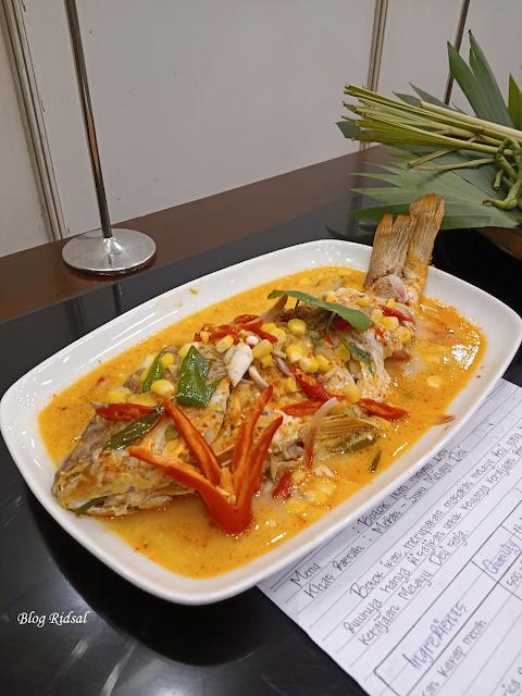 Medan Fusion Culinary 3: Melihat Langsung Event Kuliner di Hotel Santika Premiere Dyandra - Menu 03
