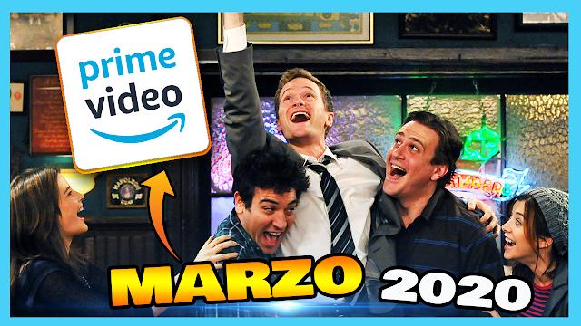 🔵 Estrenos Amazon Prime Video Marzo 2020 - Series y Peliculas