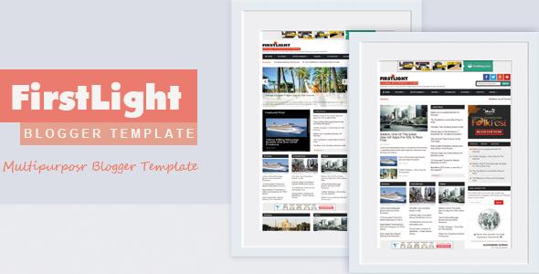 Firstlight - New Multipurpose Responsive Blogger Template