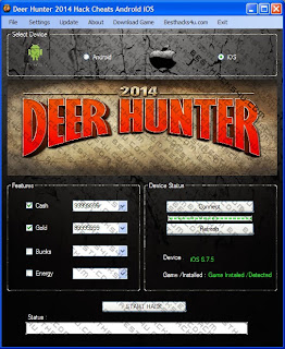 Deer Hunter 2014 Cheats 100% Working