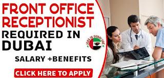 Front Desk Receptionist Job in Dubai | Salary AED 3001-3500