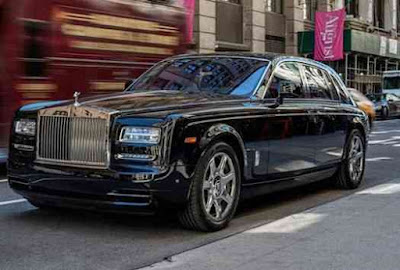 mobil roll royce milik donald trump