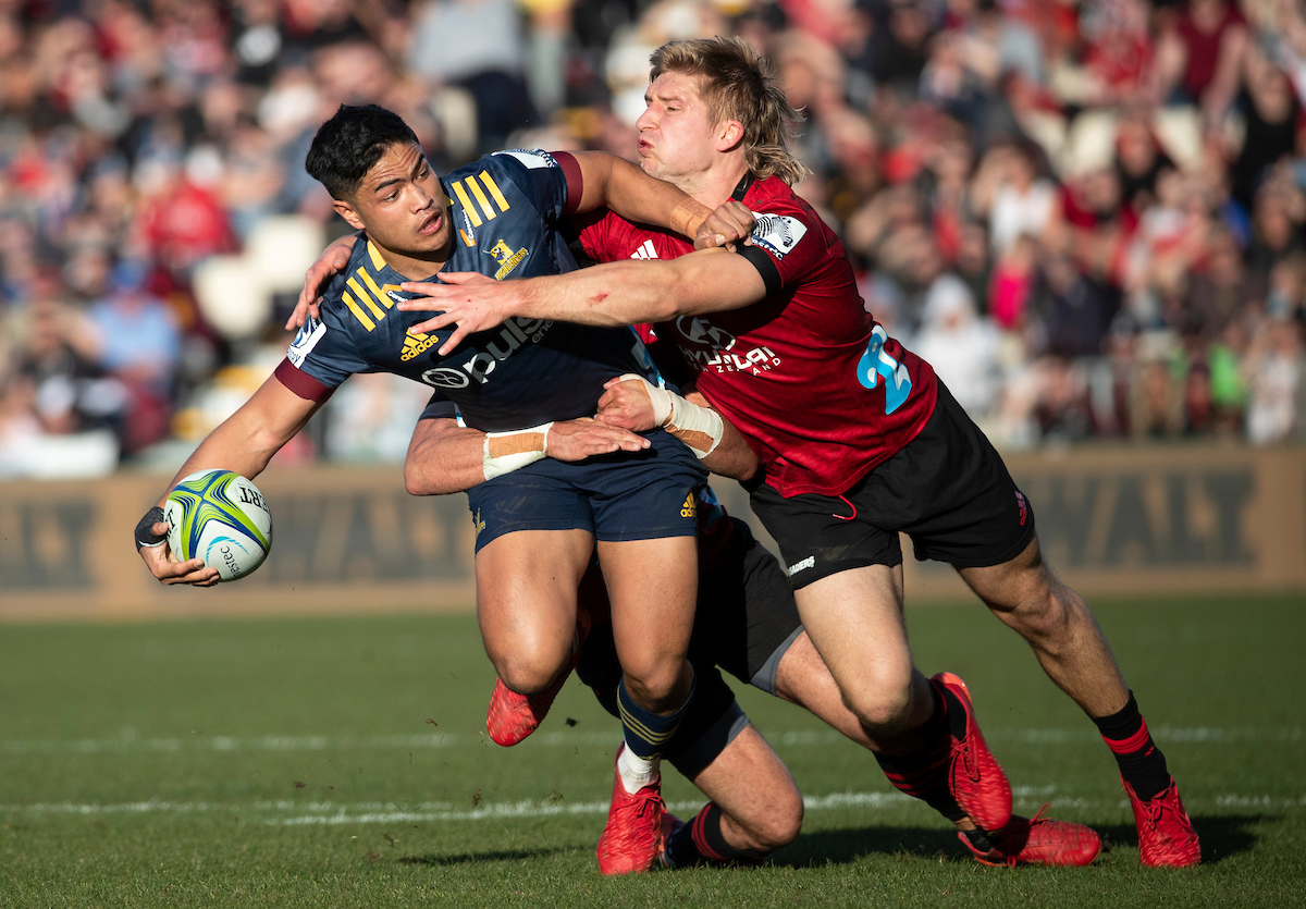 Josh Ioane of the Highlanders