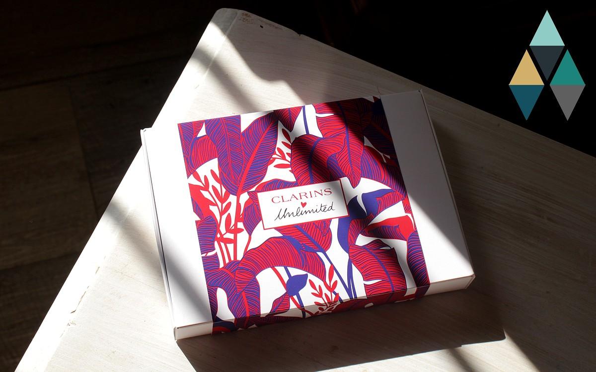 revue beauté box clarins unlimited abonnement