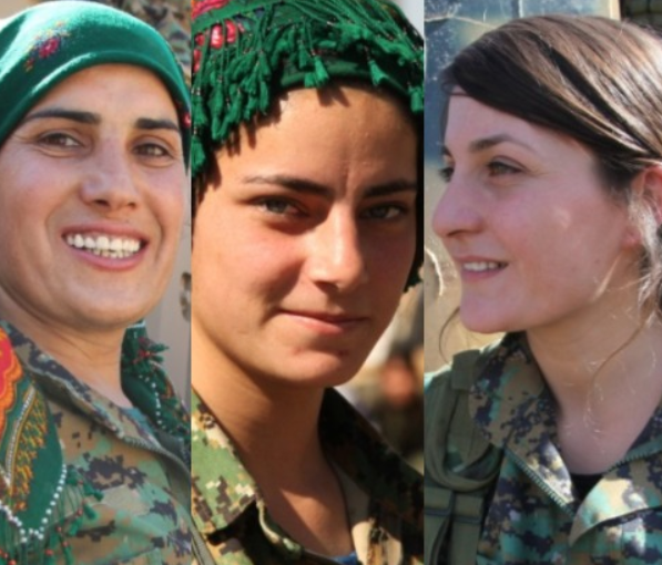 Photos: Meet the pretty women fighters who helped defeat ISIS in Raqqa