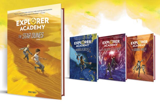 The Explorer Academy series by Trudi Trueit