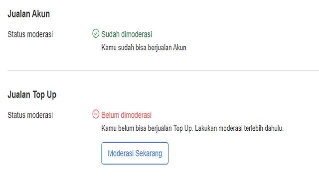 Cara Jualan di Itemku Android