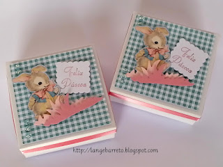 Caixas Páscoa - para doces e chocolates