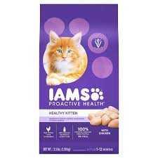 IAMS Mangime per gatti secco proattivo per la salute