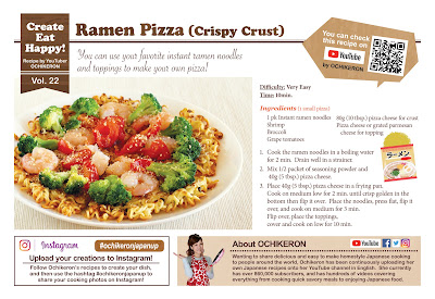 RAMEN PIZZA (Crispy Crust)