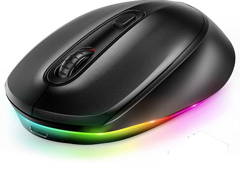seenda Rechargeable Light Up Wireless Mouse