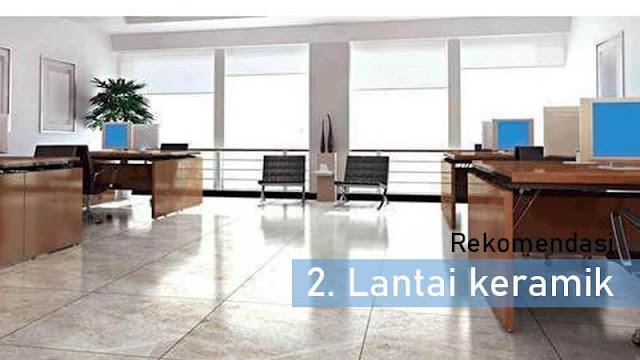 Jenis lantai terbaik untuk ruang kerja