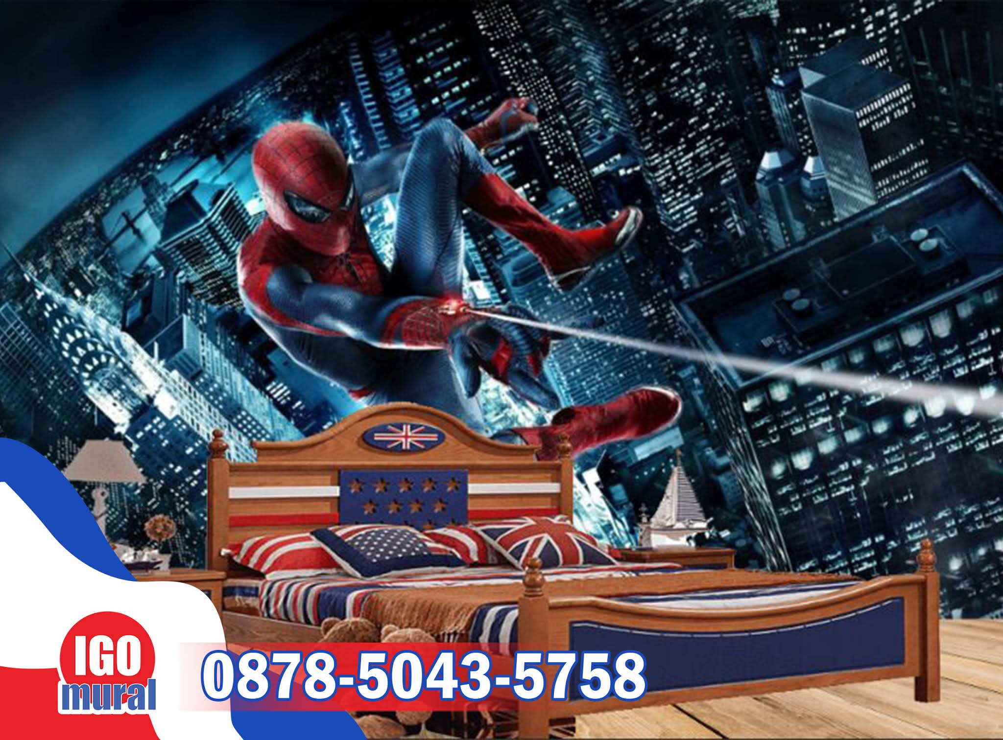 wallpaper dinding spiderman