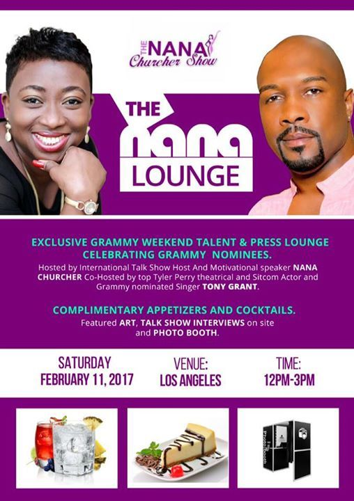 Nana Churcher to host Grammy Week Media-Meets-Talent event in LA