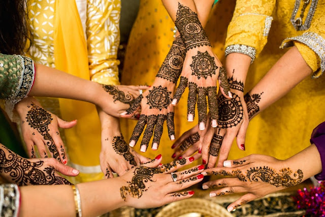 Mehndi Wedding design