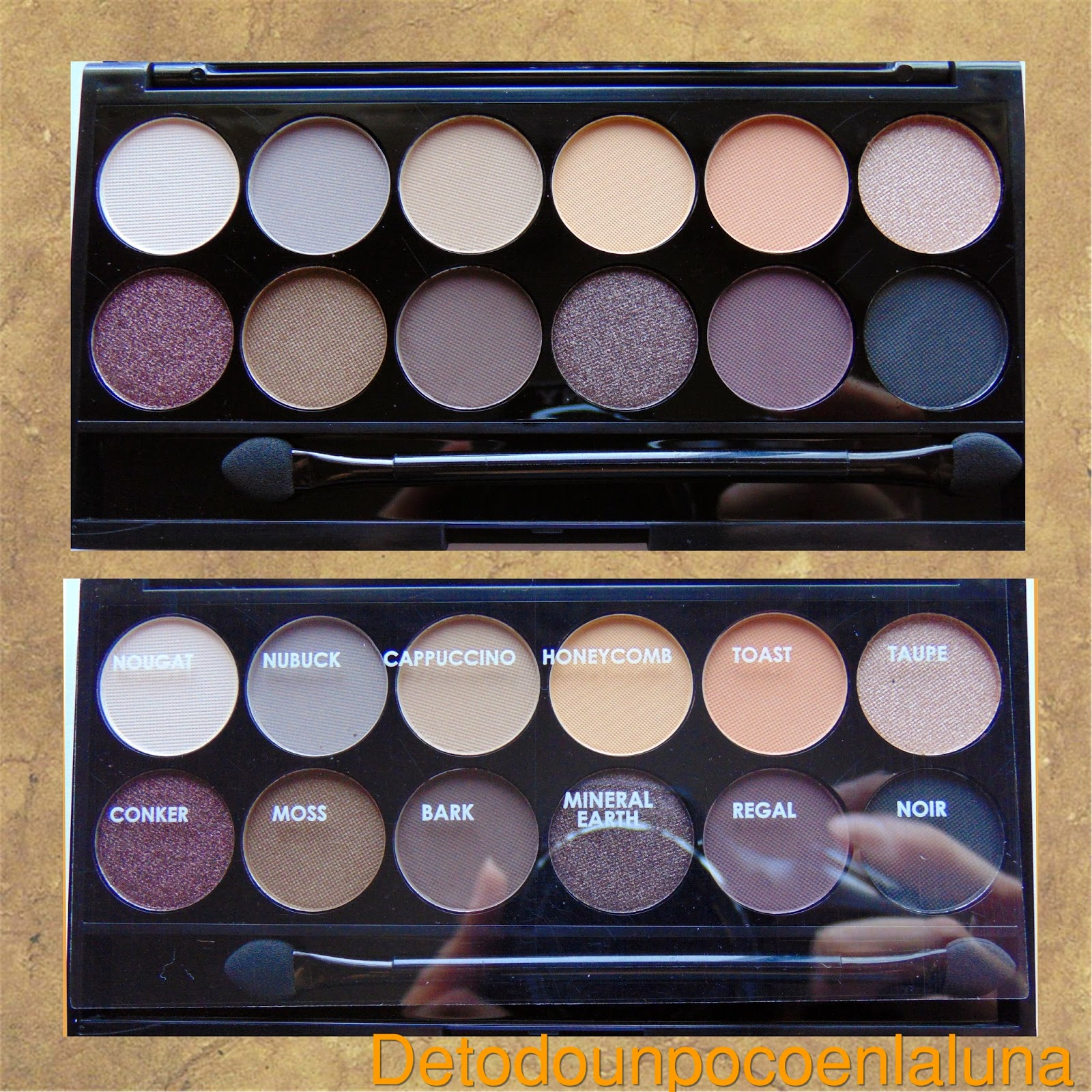 paleta au naturel sleek