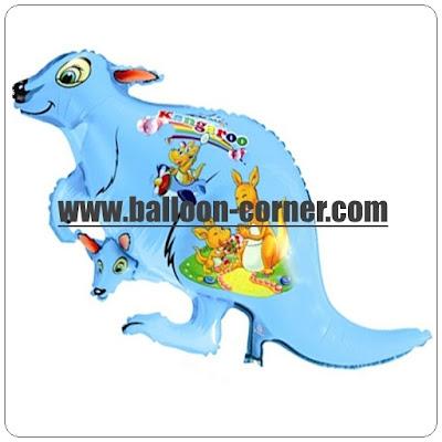Balon Foil Karakter Kangguru