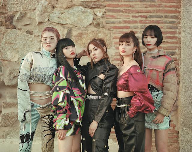 FAKY japon half moon comeback MV madrid