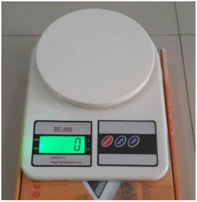 Timbangan Dapur Digital Kue 10kg SF 400