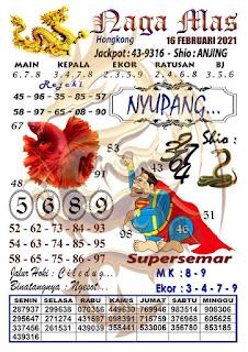 Syair Hk Naga Mas