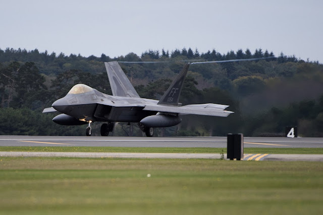 F-22 Raptor RAF Lakenheath UK Europa
