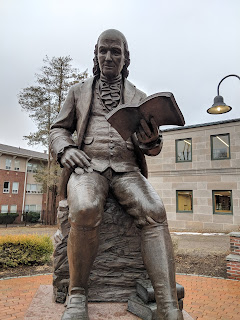 public reading of the autobiography of Benjamin Franklin