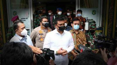 PPKM Darurat di Medan Mulai Senin 12 Juli 2021, Bobby Nasution Imbau Masyarakat Tidak Panic Buying