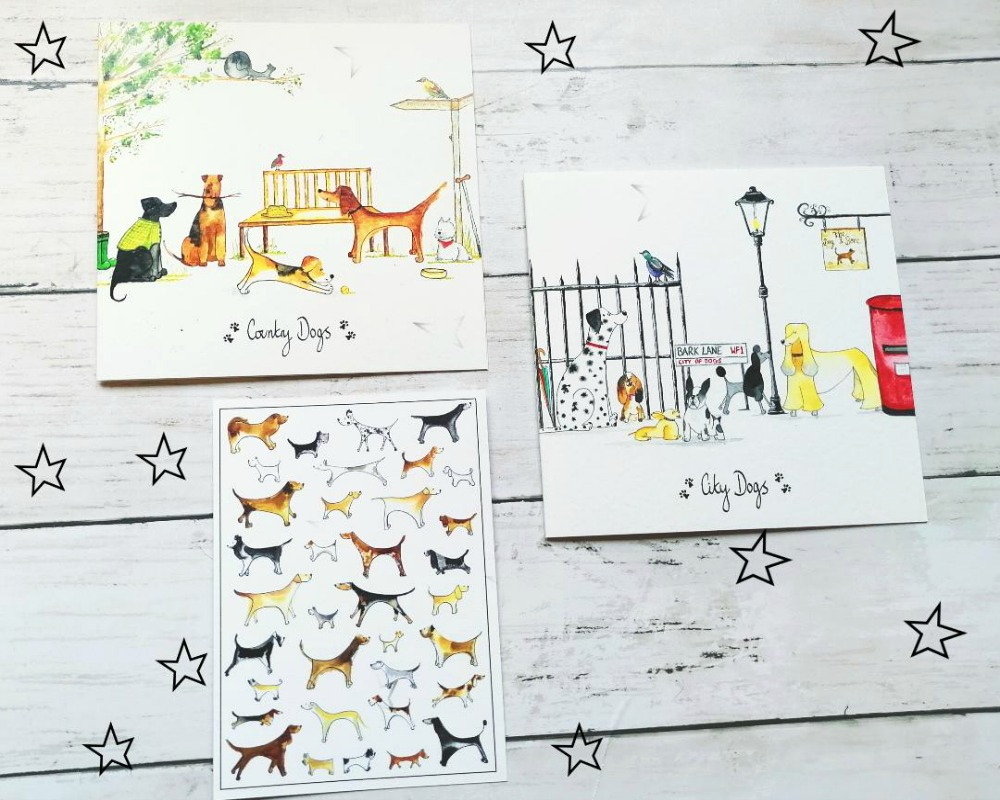 Notecards & Greetings Cards from Illustration By Abi