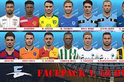 New Facepack V.58 - PES 2017